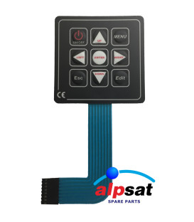 ALPSAT Satfinder Spare Part 3HDS Keyboard