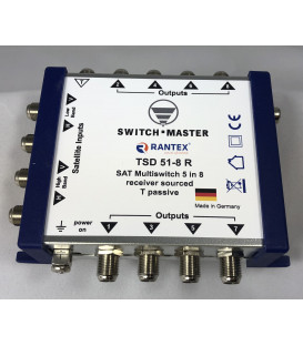 Switch Master 1 Sat - 6 Subscribers HDTV Made in Germany